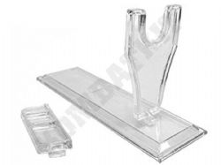 HFC Clear Acrylic Gun Display Stand for Air Pistols Airsoft BB Handguns & Replicas RIFs